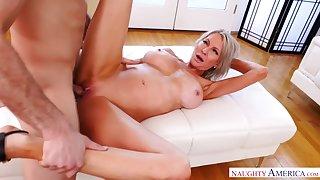 Slim blonde slut, Emma Starr is secretly fucking her best friends boyfriend, just for fun