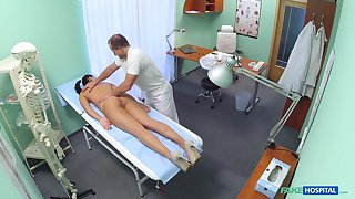 Doctor fucks hot patient and records her in secret