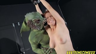 redhead babe Penny Pax - Monster Problem