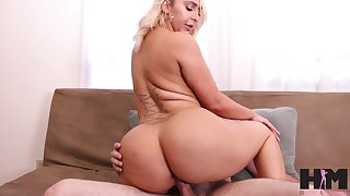 Nina's sexual appetite is great and that curvy sexpot fucks like a pro