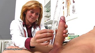Nurse Stefania Knows Notwithstanding how To Handle Pati - except