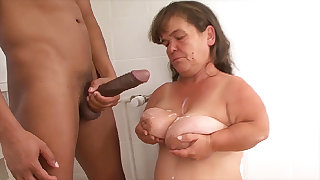 mature wee first bbc interracial lesson