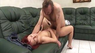 Big Boobed Caregiver Fucked By One-legged Man