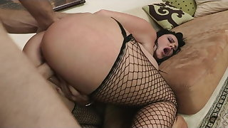 Brazzers - HOT big-ass fit together Sophie Dee is fucked hard anally