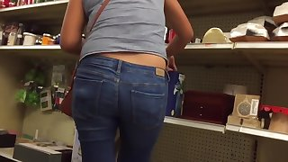 Hot Ass Slim Latina