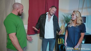 Asian swell mature MILF Mia Lelani pounded fast with the addition of cum sprayed