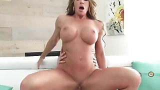 Splendid Step matriarch Farrah Dahl wants me porn video