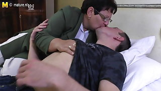 Taboo adult MOM fucks her young womanhood