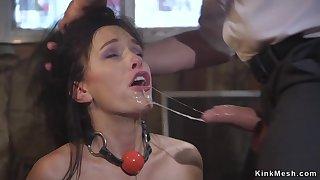 Hubby assfuck fucks become man in bondage
