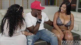 Ebony Curvy Babe Aryana Adin Hardcore Sex Video