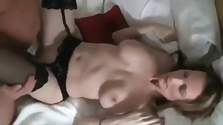 Husband Shares His Busty Naughty Wife with Undesigned Tourist