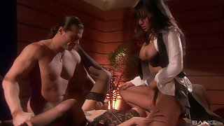 Bisexuall experience with Gianna Lynn is memorable for her friends
