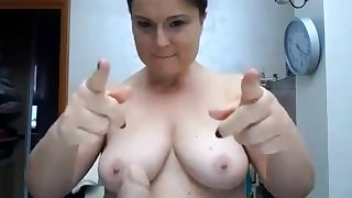 BBW with big boobs on webcam 2 asians p