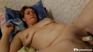 Aunt receives oral pleasures before she's fucked