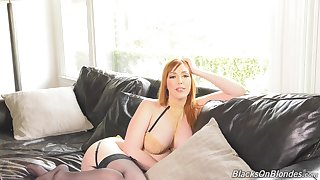 Stunning bosomy lady Lauren Phillips will blow your mind with her interview